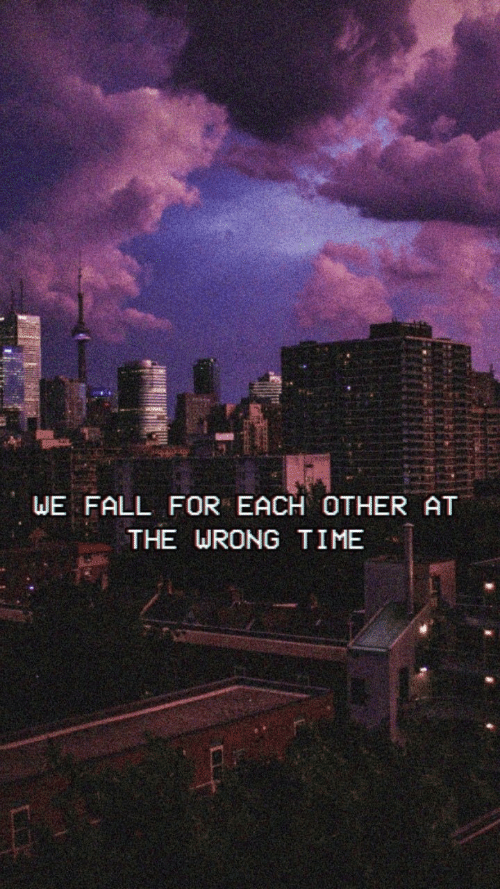 Wrong Time: WE FALL FOR EACH OTHER AT  THE WRONG TIME