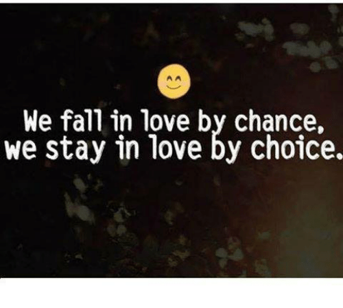 We Fall In Love By Chance: Funny Chance Memes Of 2017 On SIZZLE