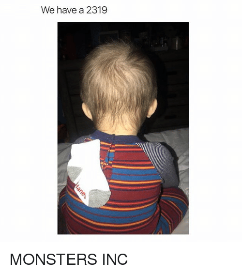 Monsters Inc: We have a 2319 MONSTERS INC