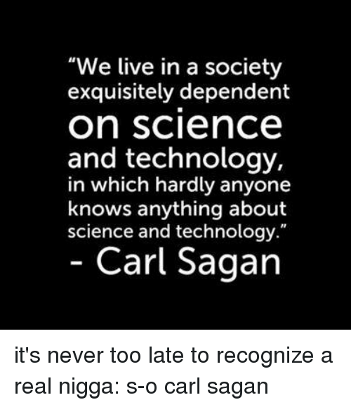 How are we NOT too dependent on technology?