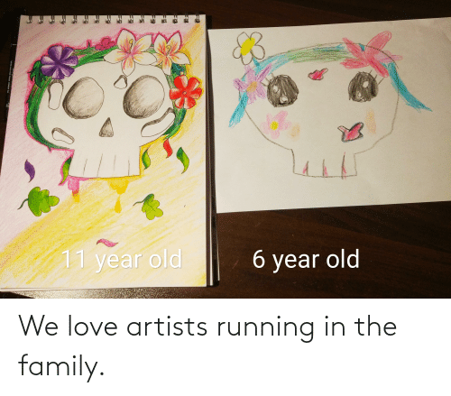Running In The: We love artists running in the family.