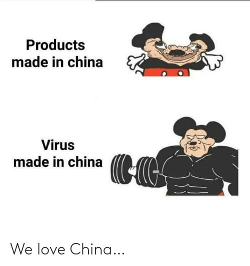 China: We love China…