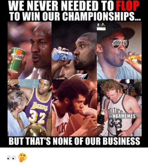 Basketball: WE NEVER NEEDED TO  TO WIN OUR CHAMPIONSHIPS  NBAMEMES  BUT THAT'S NONE OF OUR BUSINESS 👀🤔