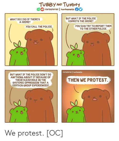 Protest: We protest. [OC]