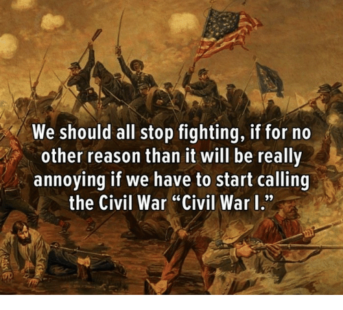 why we should fight the war We shall defend our island, whatever the cost may be, we shall fight on the  beaches, we  i must study politics and war that my sons may have liberty to  study.