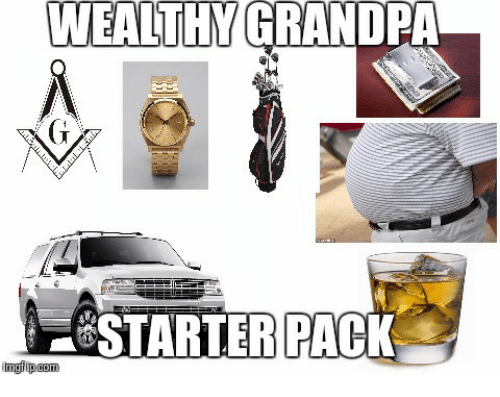25 Best Memes About Grandpa And Starter Packs  Grandpa And Starter Packs Memes-7040