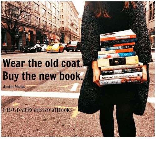 asea: Wear the old coat  Buy the new book  Austin Phelps  FBfGreatReadsGreat Books  ASEA  Ana Aman  TAMI HOAG