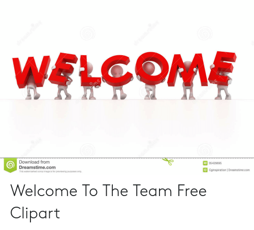 Welcome To The Team Meme: WELCOME  Download from  Dreamstime.com  This watemarked comp image is for previewing purposes only  ID 35429695  Cginspiration |Dreamstime.com Welcome To The Team Free Clipart