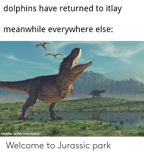 Jurassic Park: Welcome to Jurassic park