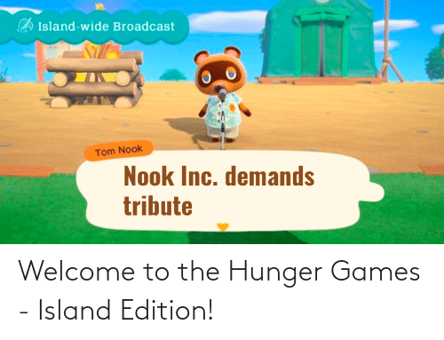 The Hunger Games: Welcome to the Hunger Games - Island Edition!