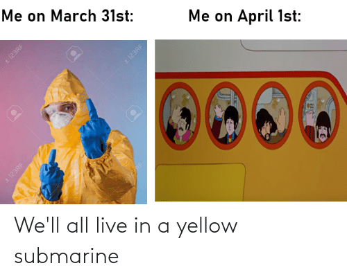 submarine: We'll all live in a yellow submarine