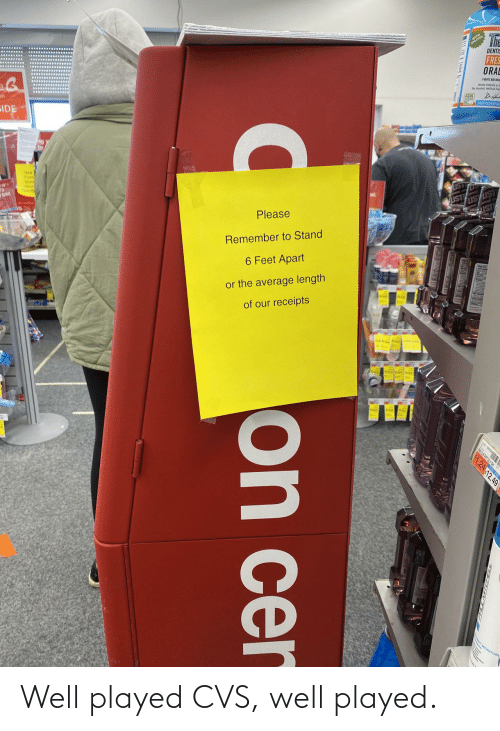played: Well played CVS, well played.