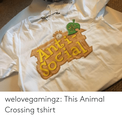 Animal: welovegamingz:  This Animal Crossing tshirt