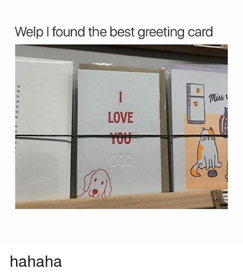 Love, Best, and Black Twitter: Welp I found the best greeting card  Miss  LOVE hahaha