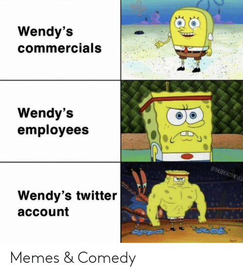 commercials: Wendy's  commercials  Wendy's  employees  @THEBREADTHEVES  Wendy's twitter  account Memes & Comedy