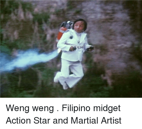 Funny, Star, and Stars: Weng weng . Filipino midget Action Star and Martial Artist