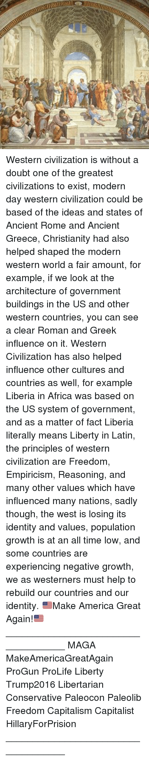 the contributions of the greek civilization to the western civilizations of today Start studying early civilizations learn the most important reason greek civilization was able to flourish was today, knowledge of greek culture from 1150.