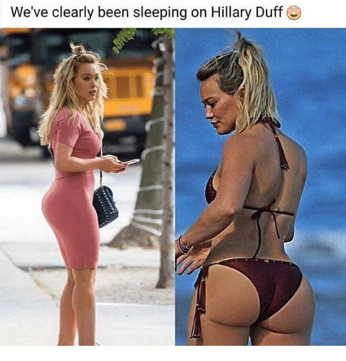 Memes, Duff, and Sleeping: We've clearly been sleeping on Hillary Duff