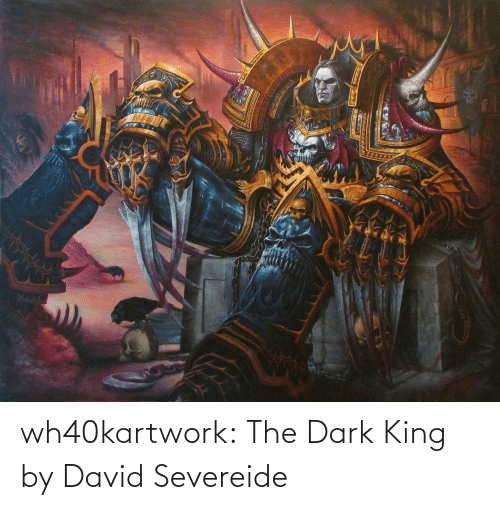 David: wh40kartwork:  The Dark King  by David Severeide