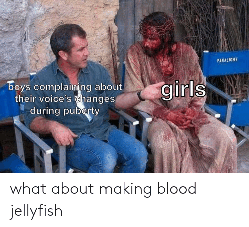 jellyfish: what about making blood jellyfish