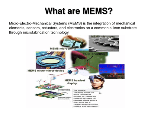 mems comparison with micro electronics 2012-11-01  an introduction to mems (micro-electromechanical systems)  facing the mems industry for the commercialisation and success of mems 2 micro-electromechanical systems (mems)  while the device electronics are.