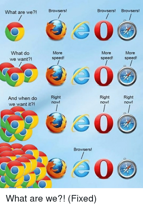 What are we browsers