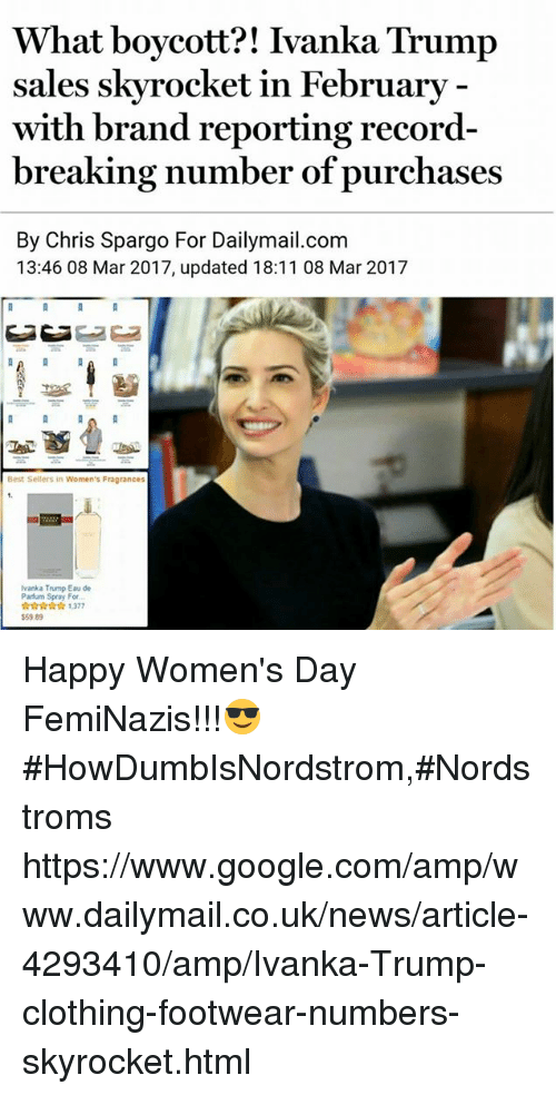 what boycott ivanka trump sales skyrocket in february with brand 19638781 🅱 25 best memes about ivanka trump clothing ivanka trump