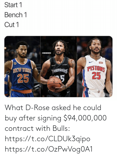Rose: What D-Rose asked he could buy after signing $94,000,000 contract with Bulls: https://t.co/CLDUk3qipo https://t.co/OzPwVog0A1