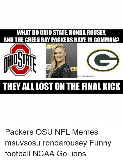 what do ohio state ronda rousey and the green bay 799706 what do ohio state ronda rousey and the green bay packers have