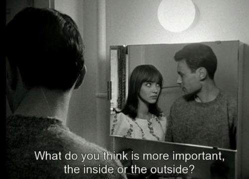 what do you think: What do you think is more important,  the inside or the outside?