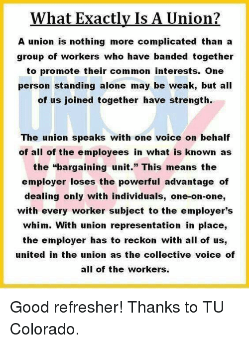 the concept behind collective bargaining and if the employer has to bargain with a union
