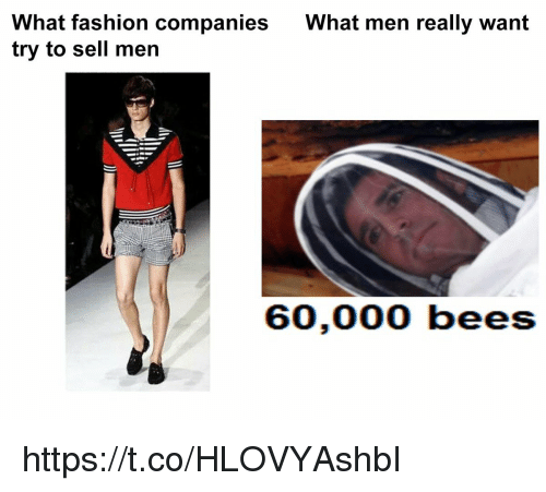 What Men Really Want: What fashion companies  try to sell men  What men really want https://t.co/HLOVYAshbI