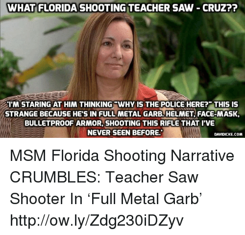 Teacher Shot In Parkland On Abc Shooter Was In Full: 25+ Best Memes About Florida