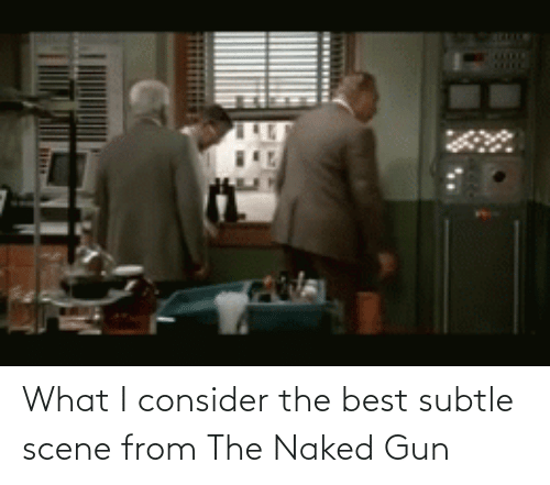 Naked: What I consider the best subtle scene from The Naked Gun