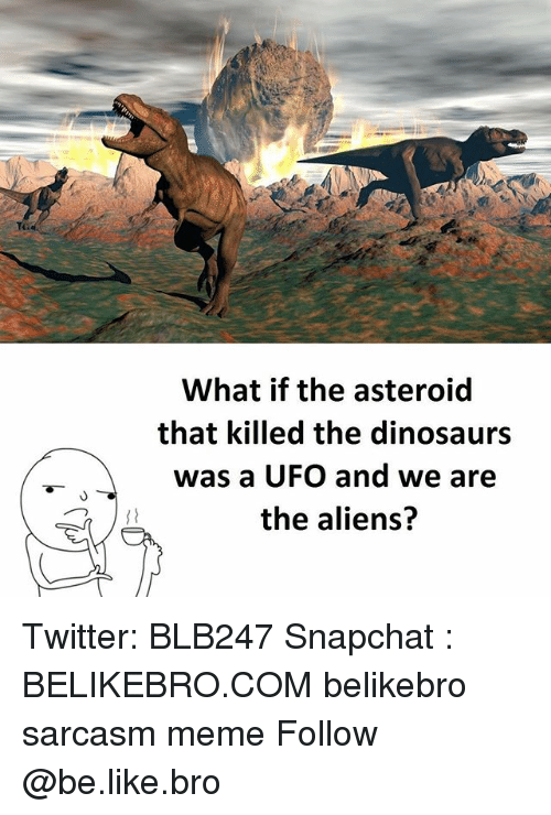 What if the Asteroid That Killed the Dinosaurs Was a UFO ...