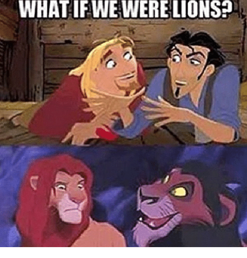 Were Lion: WHAT IF WE WERE LIONS?