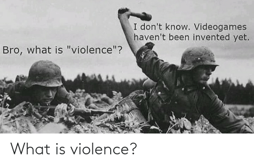 Violence: What is violence?