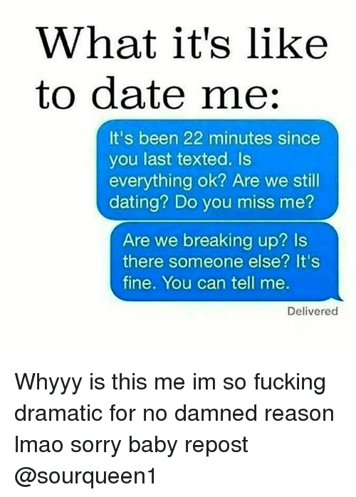 Are you still dating that girl 4
