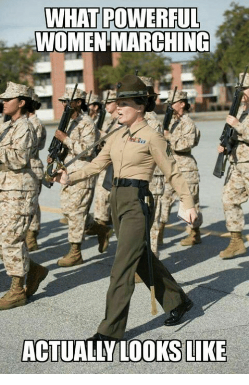 Women March: WHAT POWERFUL  WOMEN MARCHING  ACTUALLY LOOKS LIKE