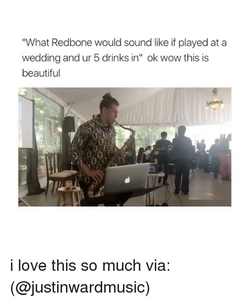 """redbone: """"What Redbone would sound like if played at a  wedding and ur 5 drinks in"""" ok wow this is  beautiful i love this so much via: (@justinwardmusic)"""