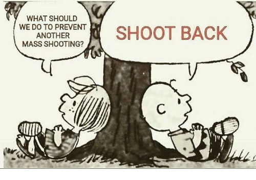 Memes, Back, and 🤖: WHAT SHOULD  DNOHERSHOOT BACK  MASS SHOOTING?