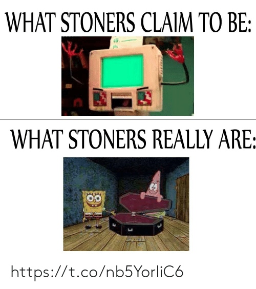 Stoners: WHAT STONERS CLAIM TO BE:  WHAT STONERS REALLY ARE: https://t.co/nb5YorliC6