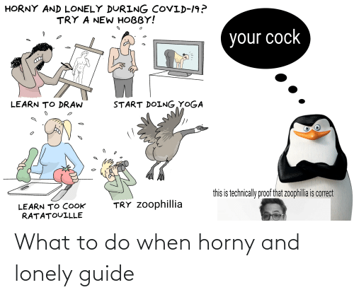What To Do: What to do when horny and lonely guide