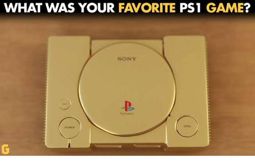 Video Games, Ps1, and Ps1 Games: WHAT WAS YOUR  FAVORITE  PS1 GAME  SONY
