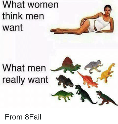 What Men Really Want: What women  think men  want  What men  really want From 8Fail