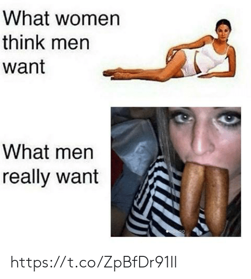 What Men Really Want: What women  think men  want  What men  really want https://t.co/ZpBfDr91Il