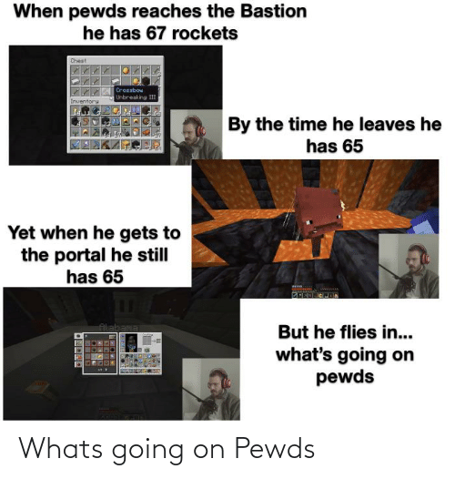 whats going on: Whats going on Pewds