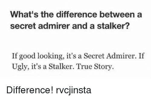 the differences between paparazzi and stalkers In order to be guilty of stalking you have to make the person afraid for their safety  paparazzi might be annoying but most people aren't worried.