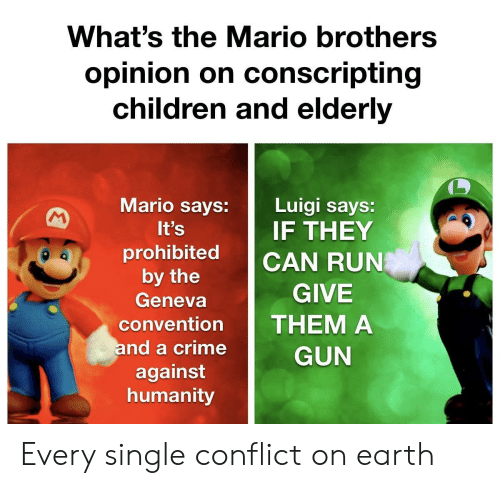 What Are The Mario Bros Views On Suicide Luigi Says If You