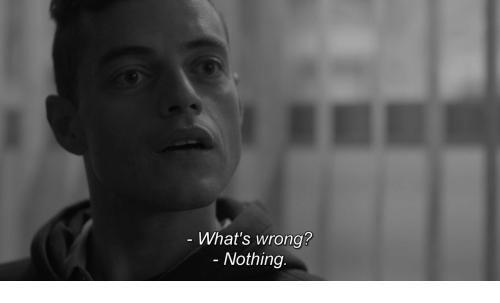 Whats, Nothing, and  Wrong: What's wrong?  - Nothing